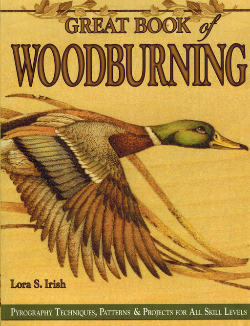 Great Book Of Woodburning - Irish