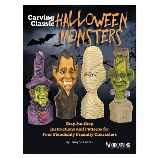 Carving Classic Halloween Monsters -Gosnell