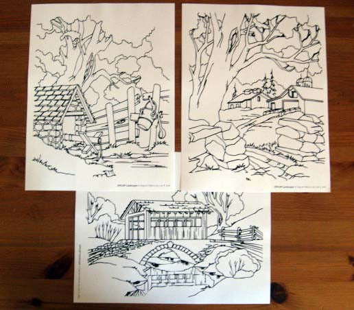 Landscape relief carving pattern pack irish u2014 mountain woodcarvers