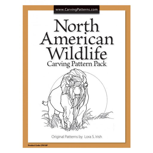 North American Carving Wildlife Pattern Pack - Irish