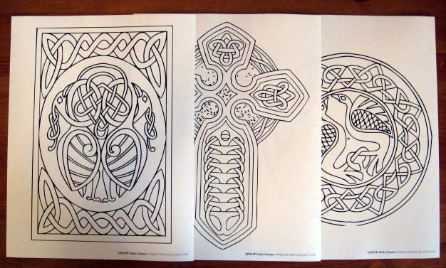 Celtic Crosses Pattern Pack - Irish