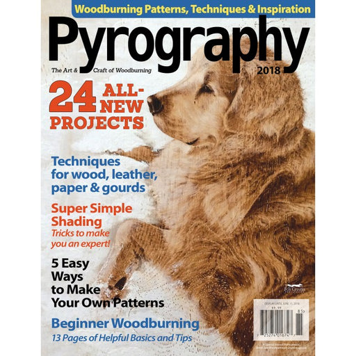 Pyrography Magazine Vol 6