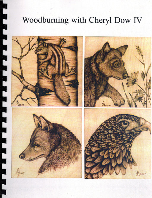 Woodburning with Cheryl Dow- Book 4