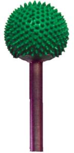 "Saburr 1/4""shank - Ball Coarse"