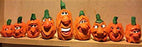 Wood Carving Caricature Pumpkins - Yedidia
