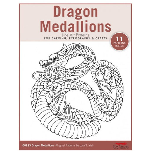 Dragon Medallions Pattern Pack - Irish