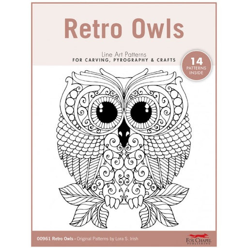 Retro Owls Pattern Pack - Irish