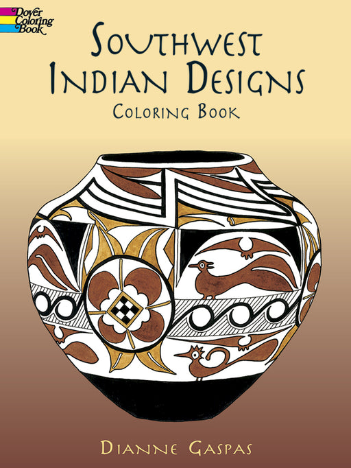 Southwest Indian Designs Coloring Book - Gaspas