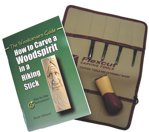Flexcut WOODSPIRIT 5 Piece Carving Kit