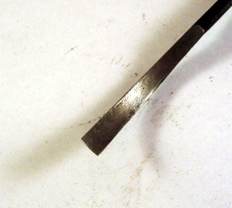Wood Carving Tool - #5 Shallow Gouge SHORT BENT
