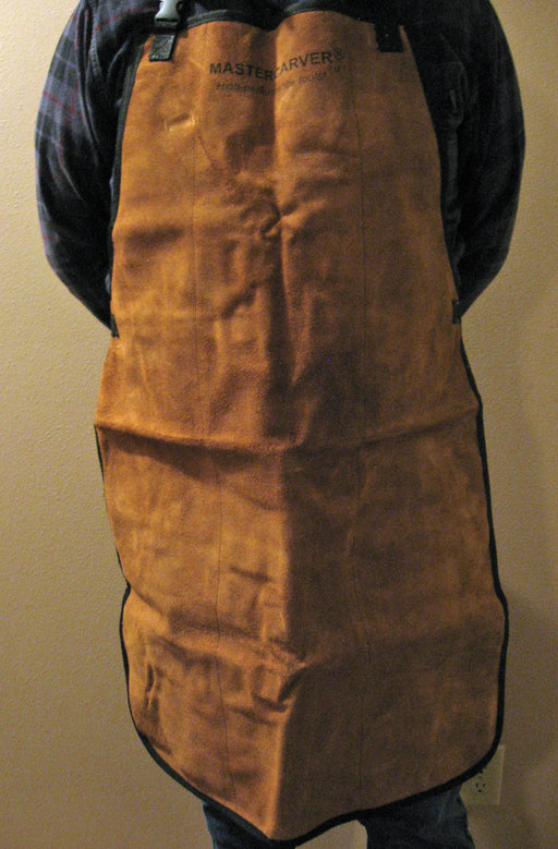 Premium Woodcarver's & Power Carver's Leather Apron