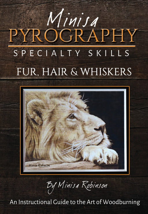 DVD Minisa Pyrography Specialty Skills: Fur, Hair & Whiskers