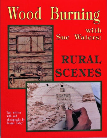 Wood Burning Rural Scenes - Waters