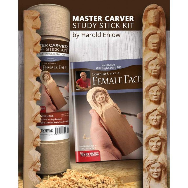 Female Face Study Stick Kit - Enlow