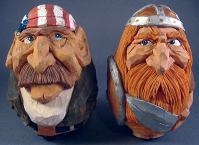 Carving Compact Caricatures - Johnson