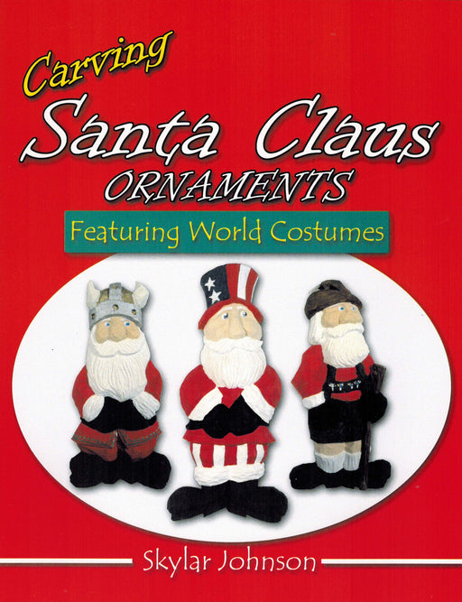 Santa Claus Ornaments Featuring World Costumes - Johnson