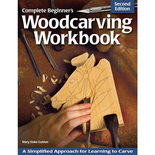 Complete Beginners Woodcarving Workbook - Guldan