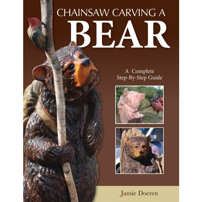 Chainsaw Carving a Bear - Doeren