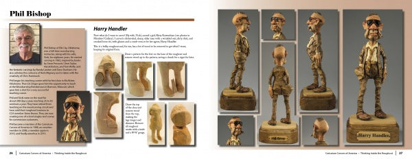 Thinking Inside the Roughout: 28 Caricature Carvers Share Insights Bob Travis & Caricature Carvers of America