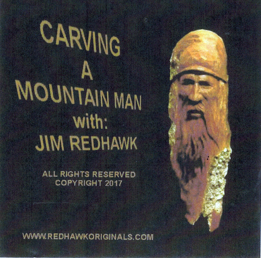 DVD Carving Mountain Man - Redhawk