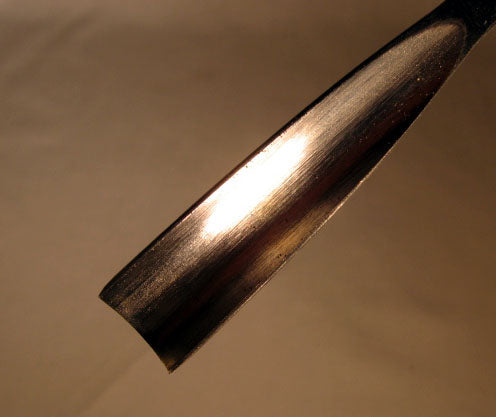 Wood Carving Tool - #8 Deep Gouge FISHTAIL