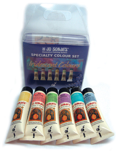JoSonja Iridescent Colors Paint Sampler Kit
