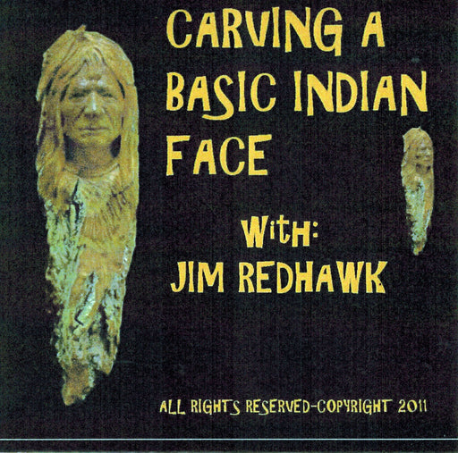 DVD Carving a Basic Indian Face - Redhawk
