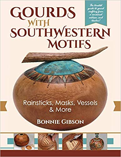 Gourds with Southwestern Motifs: Rainsticks, Masks, Vessels & More-Gibson