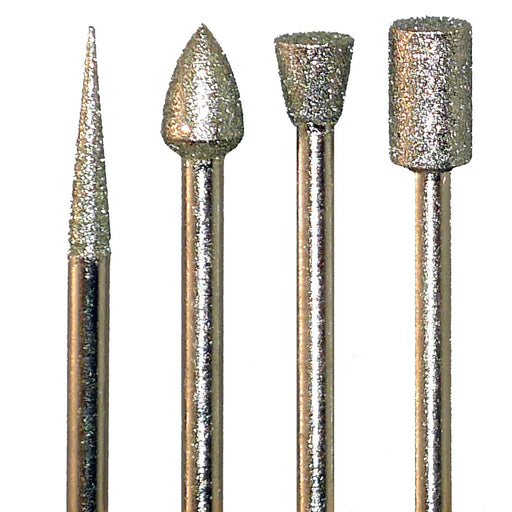 Diamond Burr Set- 4pc