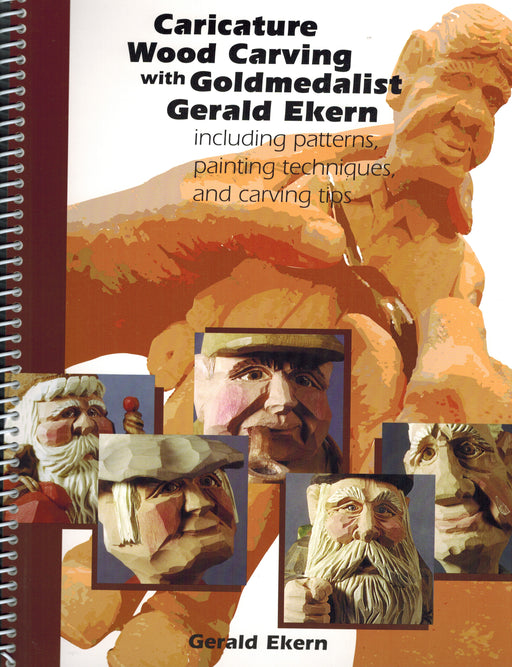 Caricature Wood Carving  - Ekern