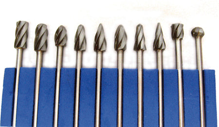 Carbide Bur Set 10 piece