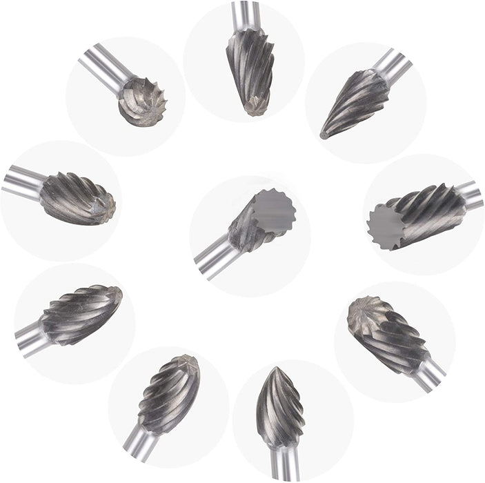 Carbide Bur-Set of 10