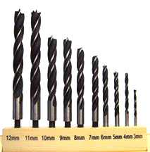 Drill Bits -Metric Sized for Bird Eyes