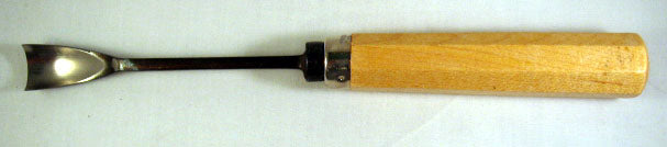 Wood Carving Tool - #8 Deep Gouge SHORT BENT
