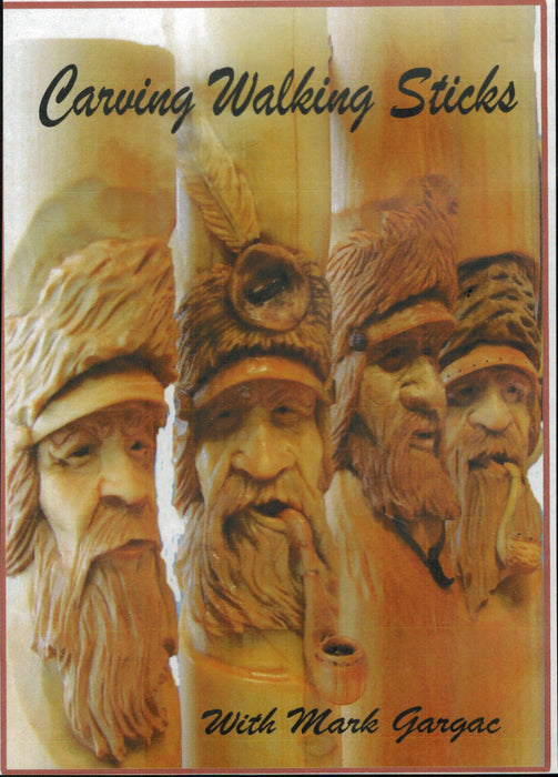 DVD Carving Walking Sticks - Gargac