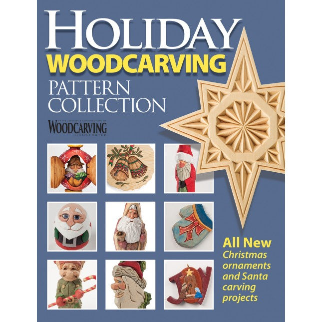 Holiday Woodcarving Pattern Collection Magazine