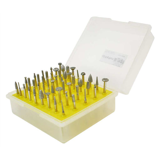 "Diamond Bur Set  - 50 piece -1/8""Shank"