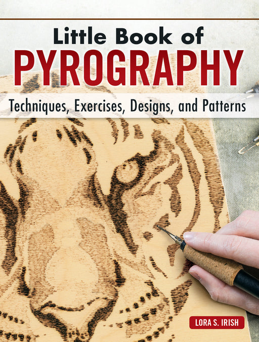 Little Book of Pyrography- Hardbound- Irish