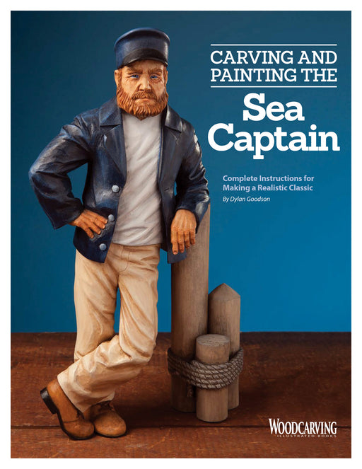 Carving & Painting the Sea Captain BOOKLET - Goodson