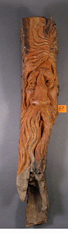 Original Woodcarving- Woodspirit B7- Skylar Johnson