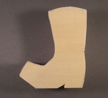 BOOT Basswood Blank