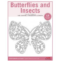Butterflies and Insects Pattern Pack - Irish