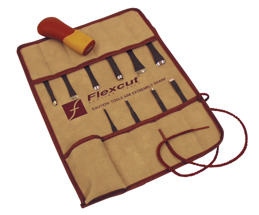Flexcut 11 Piece Carving Set