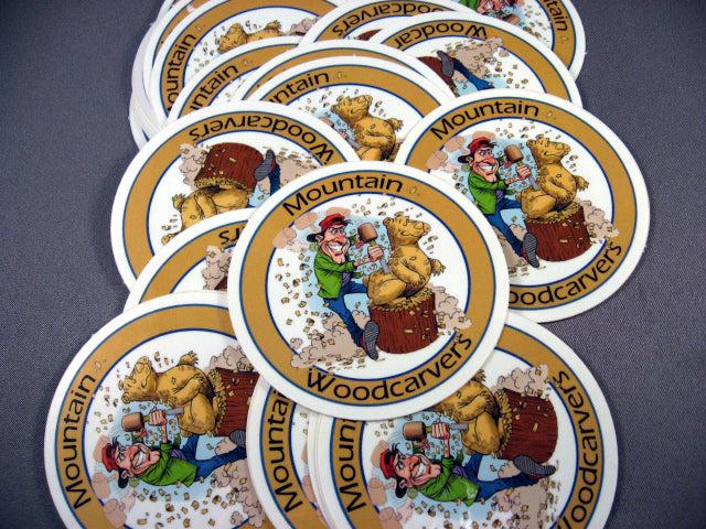 Bear Carver Sticker-Limited Edition