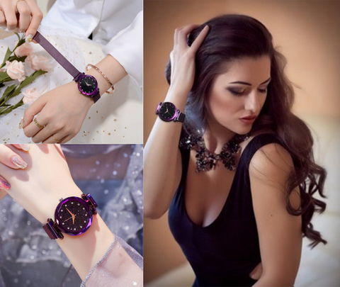 Fashion Starry Watch, Sterrenhemel Horloge