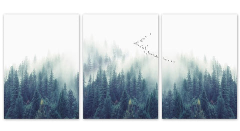 Nordic Woods Canvas Art