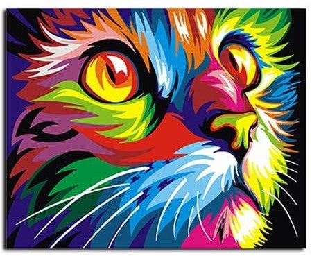 Rainbow Cat Creative-Art Verf Kit