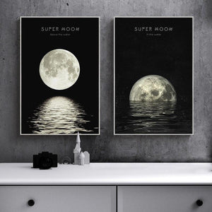 Super Moon | Canvas Art - Science Factory