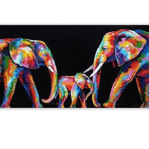 Olifant Familie - Number Painting (NIEUW) - Science Factory