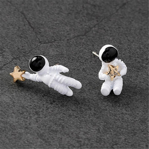 Space Astronaut Oorbellen - Science Factory